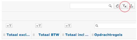 Lijsten: geselecteerde items en filters