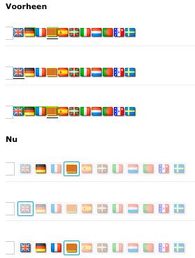 Verbetering weergave meertalige velden