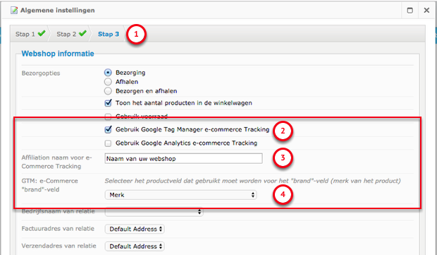 Google Tag Manager e-commerce Tracking inschakelen