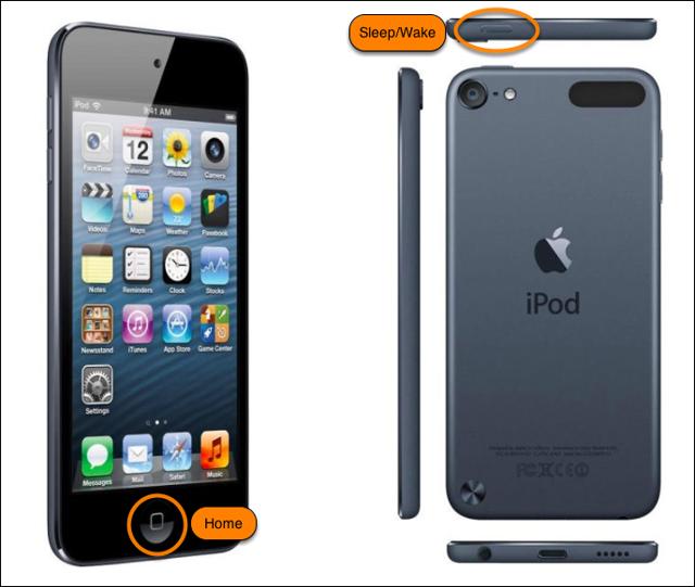 Restart the iPod