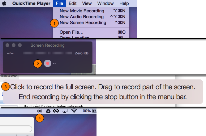 Create Screen Recordings on Mac