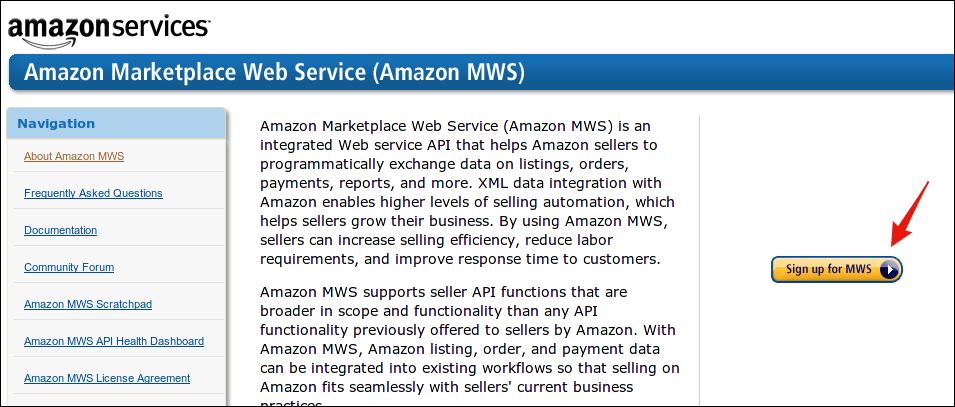 Amazon Us Marketplace Web Services Setup Guide Retailops