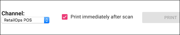 Print On Scan