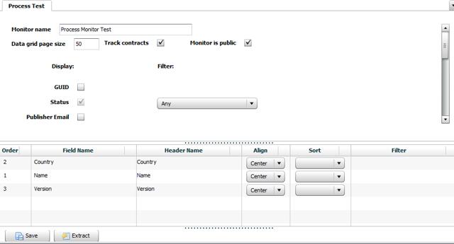 Creating a Process Monitor