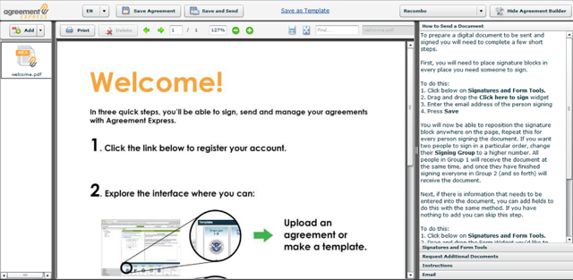 Overview of the Agreement Interface