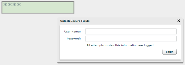 Viewing Secure Field Data