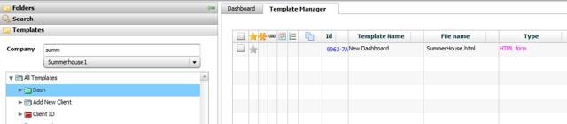 Dashboard Folders
