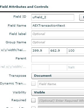 Linking Transaction Folders to Landing Pages