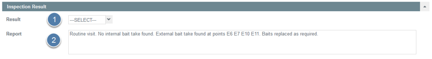 Complete Inspection Result