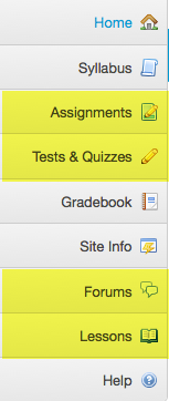 First, verify the active tools in the destination site.