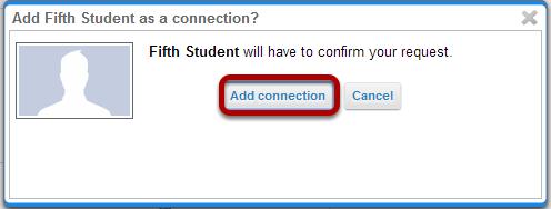 Connection request confirmation.