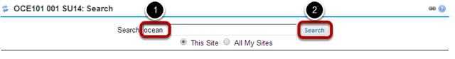 Enter your search term/s.