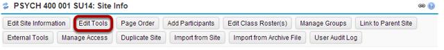 Click Edit Tools.