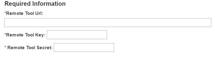 Configure the External Tool settings.