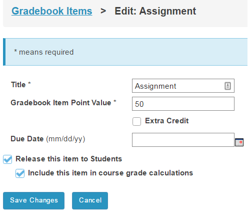 Assignment is worth 50 points.