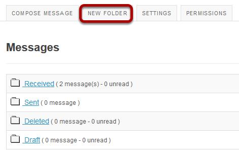 Go to New Folder.