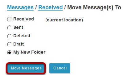 Click Move Messages.