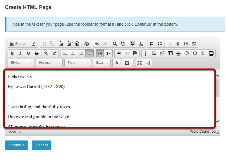Enter document content.