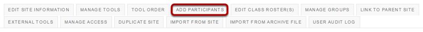Click Add Participants.