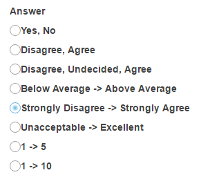 Select Answer(s) from list.