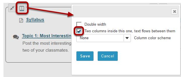 Click the Column Properties button.