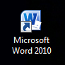 1. Open the template using MS Word