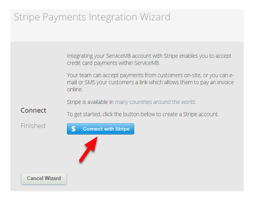 Welcome to Stripe Integration Wizard