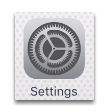 To configure your iPhone/iPad device, tap Settings
