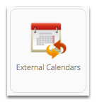 You will need to activate the External Calendars add-on first.