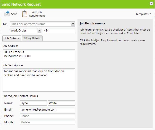 Sending Network Requests