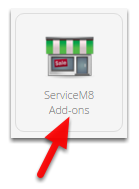 You can enable this by going to Settings > ServiceM8 Add-ons
