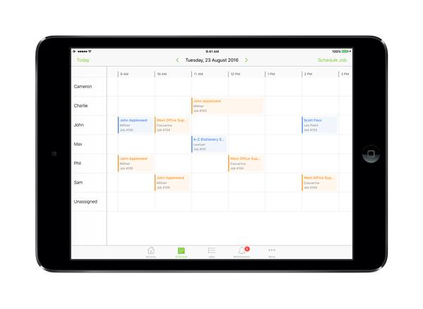 Introducing Staff Schedule on iPad