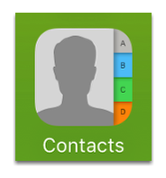 Open Contacts App
