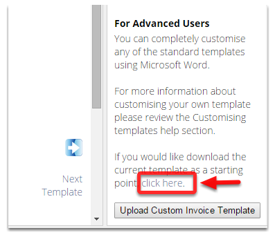 For advanced users you can download the word template and fully customise the template