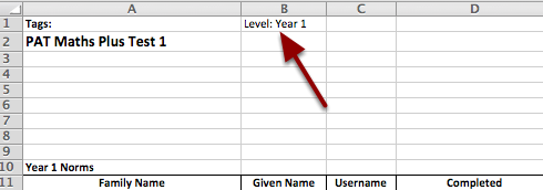 Step 8: Adding the Year Level to the data