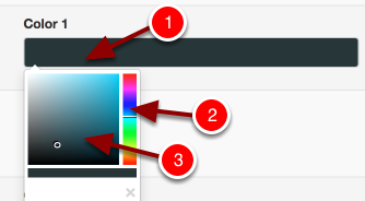 Step 7 (optional): Edit the colour of the score range