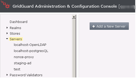 Adding an Active Directory authentication server.