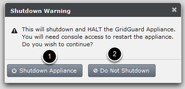 Shutting down the server (Shutdown & Halt)