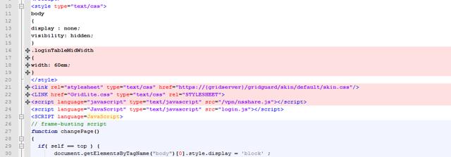 Customize index-gridguard.html - Add Style elements
