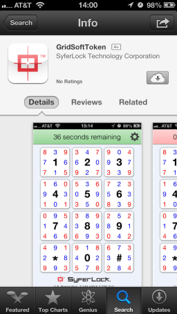Locate GridSoftToken on the App Store