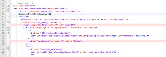 Customize index-gridguard.html - Add GridGuard References