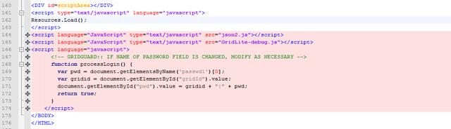 Customize index-gridguard.html - Add Javascript references