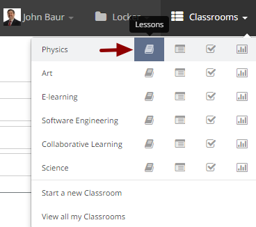 Adding resources to a lesson page