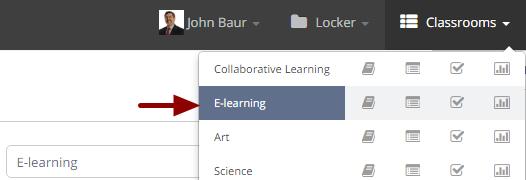 Updating classroom information