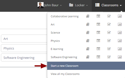 Creating a classroom
