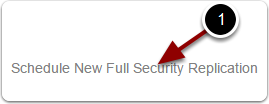 Create a new full security replication job