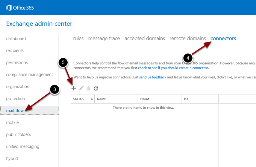 Configuring the Office 365 Send Connector
