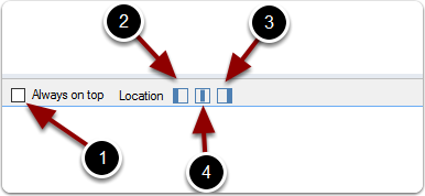 WorkPoint Express Desktop window location feature