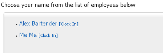 Locate your name on the list of staff members (sorted alphabetically)
