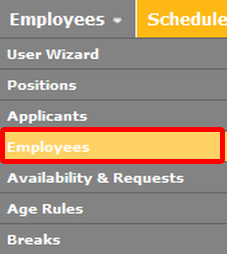 Go to the Employees List